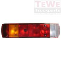 Rückleuchte mit Kennzeichenbeleuchtung ohne Leuchtmittel links / Taillamp with license plate light no bulb LH