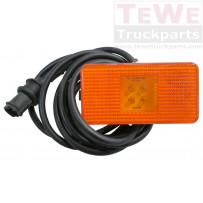 Seitenmarkierungsleuchte LED mit 205 cm Kabel / Side marker lamp LED with 205 cm cable