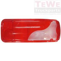 Ersatzglas Rückleuchte rechts / Taillamp replacement glass RH