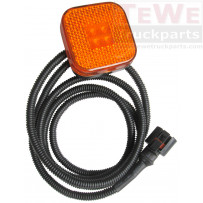 Seitenmarkierungsleuchte LED mit 151 cm Kabel / Side marker lamp LED with 151 cm cable