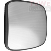 Ersatzglas Weitwinkelspiegel beheizt / Wide angle mirror replacement glass heated