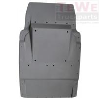 Kotflügel Vorderachse hinten / Mudguard front axle rear