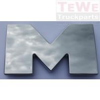 Buchstabensatz M-A-N / Letter-Set M-A-N