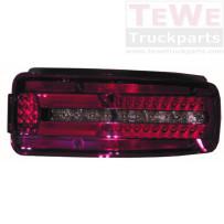 Rückleuchte LED mit Kennzeichenbeleuchtung links / Rear lamp LED with license plate light LH