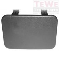 Stoßfängerabdeckung seitlich / Front bumper cover cap laterally