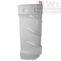 Windabweiser innen weiß grundiert links / Air deflector inner white primed LH