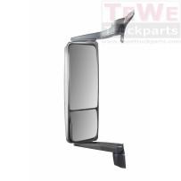 Hauptspiegel elektrisch einstellbar beheizt mit Weitwinkelspiegel manuell einstellbar beheitzt links / Main mirror electrically adjustable heated with wide angle mirror manually adjustable heated LH