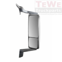Hauptspiegel elektrisch einstellbar beheizt mit Weitwinkelspiegel manuell einstellbar beheizt rechts / Main mirror electrically adjustable heated with wide angle mirror manually adjustable heated RH