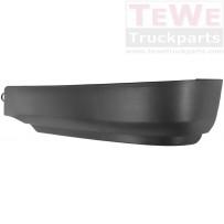 Stoßfängerecke schwarz links / Front bumper corner black LH