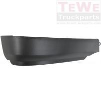 Stoßfängerecke schwarz rechts / Front bumper corner black RH