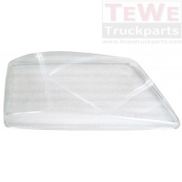 Ersatzglas Hauptscheinwerfer rechts / Headlight replacement glass RH