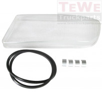 Ersatzglas Nebelscheinwerfer links / Fog lamp replacement glass LH