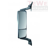 Hauptspiegel elektrisch einstellbar beheizt mit Weitwinkelspiegel manuell einstellbar beheitzt links / Main mirror electrically adjustable heated with wide angle mirror manually adjustable heated LH