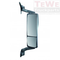 Hauptspiegel elektrisch einstellbar beheizt mit Weitwinkelspiegel manuell einstellbar beheitzt rechts / Main mirror electrically adjustable heated with wide angle mirror manually adjustable heated RH