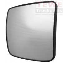 Ersatzglas Weitwinkelspiegel beheizt links / Wide angle mirror replacement glass heated LH